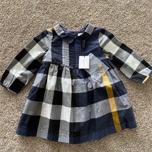 Nwt Burberry 12m baby dress